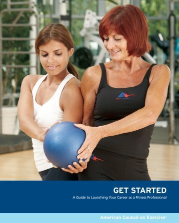 Get started - American Council on Exercise