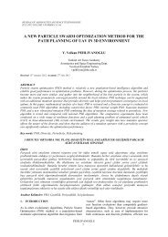 a new particle swarm optimization method for the path planning of ...