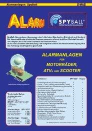 Alarmanlage SpyBall - X-MAS