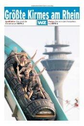 Kirmesbeilage (PDF / 6,04 MB) - Westdeutsche Zeitung
