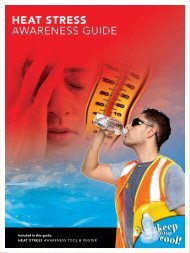 HEAT STRESS AWARENESS GUIDE - wsib