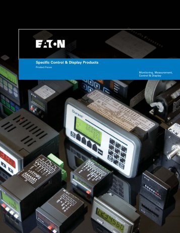 Specific Control and Display Products.pdf - of downloads