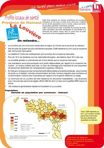 On retiendra... - La Province de Hainaut