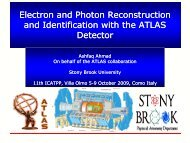Electron and Photon Reconstruction and Identification ... - Villa Olmo
