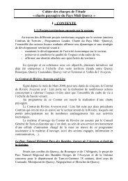 cahier des charges lié à l'élaboration de la ... - Pays Midi-Quercy