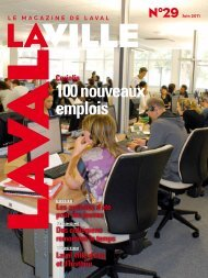 100 nouveaux emplois - Laval