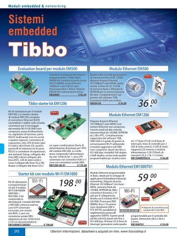 12_Tibbo e sist embedded.indd - Futura Elettronica