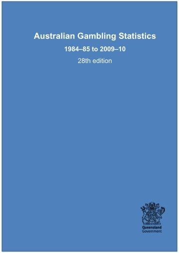 Australian Gambling Statistics, 28th edition, Explanatory Notes