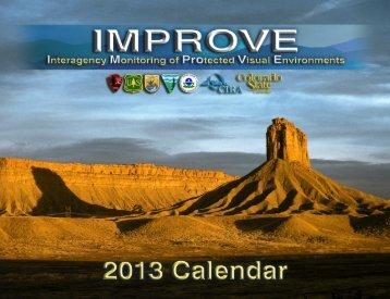 2013 IMPROVE Calendar (PDF, 17 MB) - Colorado State University