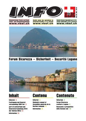 Editoriale - VBSF
