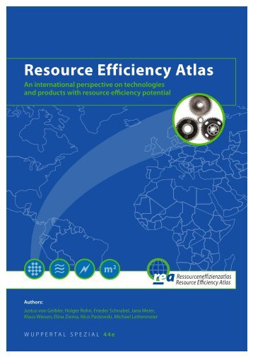Resource Efficiency Atlas - Wuppertal Institut