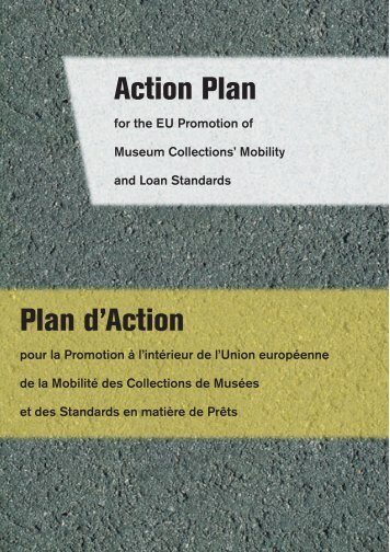 Plan d'Action Action Plan - Lending for Europe - Collections Mobility