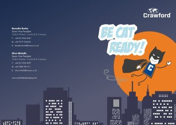 Be CAT Ready - Crawford - Crawford & Company