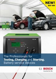 The Professionals for Testing, Charging and Starting. Battery service ...