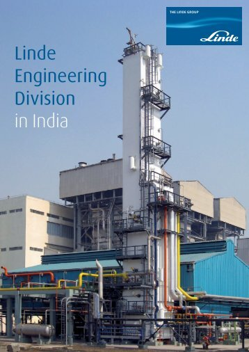 Linde Engineering Division in India - Linde-India