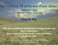 Here and in Other Countries - Agricultural Policy Analysis Center