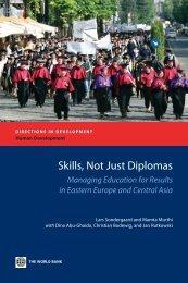 Skills, Not Just Diplomas - World Bank Internet Error Page ...