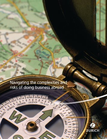 Navigating the complexities and risks of doing business ... - Zurich