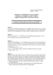 Tentamen van Wiskunde B voor CiT (151217) Tentamen ... - ConcepT
