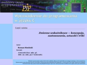 Wprowadzenie do programowania w języku C