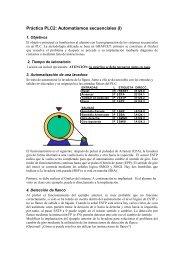 Práctica PLC2: Automatismos secuenciales (I)