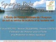 1.38 Mo - Fédération nationale de la pêche en France