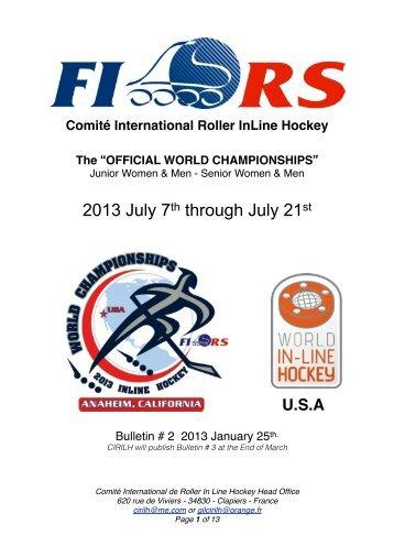 2013 07 Eng Bulletin 2 - FIRS