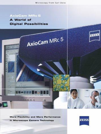 AXIOCAM MRC5.pdf - Focuspi.com