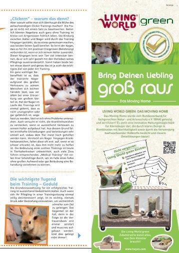 Freunde Magazin Sommer 2013 S. 35 - Alles für Tiere