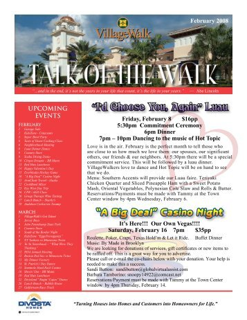 February - Village Walk of Bonita Springs