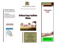 Information Sheet - Ministry Of Agriculture, Food and Cooperatives