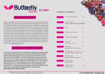 Butterfly newsletter