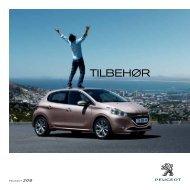 TILBEHøR - Peugeot