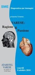 VARESE: Ragione Passione & - SIRM