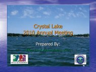 Hey and Associates Presentation from 2010 Crystal Lake Annual ...