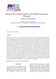 Design of Power Plant Capacity in DC Hybrid System and ... - CMRT