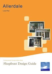 Draft Cockermouth Shopfront Design Guide (June 2013) - Allerdale ...