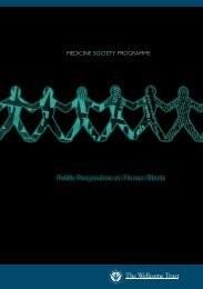 Public Perspectives on Human Cloning v.2 - Wellcome Trust