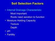 Soil Selection Factors - Viticulture Iowa State University