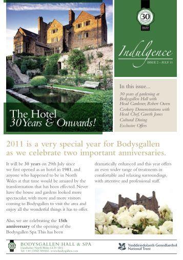 Newsletter Summer 2011 - Bodysgallen Hall