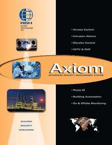 RBH 2006 Axiom Cat-Eng.indd - Zone Technology