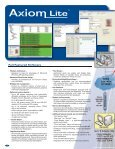 RBH 2006 Axiom Cat-Eng.indd - Zone Technology - Page 4
