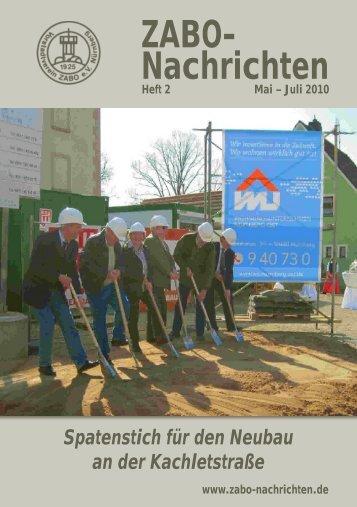 Heft 02-2010 - Vorstadtverein Zabo