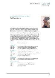 Download CV som PDF her - Kunstakademiets Arkitektskole
