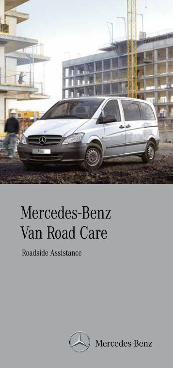 Agility brochure mercedes benz for Mercedes benz care
