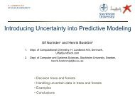 Introducing Uncertainty into Predictive Modeling - UK-QSAR