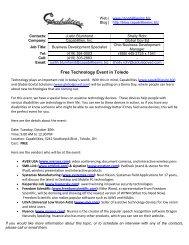 Demo Days Event Press Release - Capabilities, Inc.