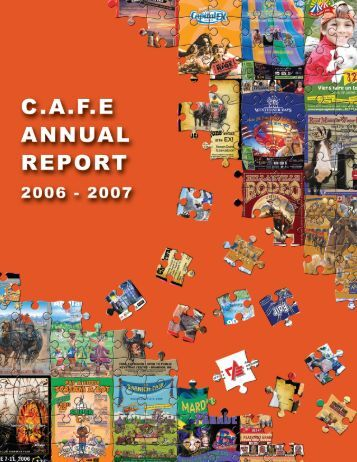 2006-2007 Annual Report - Canadian Association of Fairs and ...