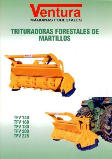 TRITURADORAS FORESTALES DE MARTILLOS