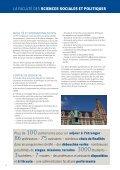 Consulter notre brochure ici - Faculté des Sciences sociales et ... - Page 6